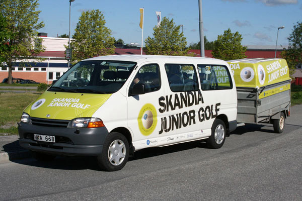 Helfoliering Skandia Junior Golf 1