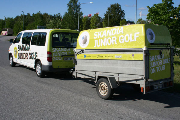 Helfoliering Skandia Junior Golf 3